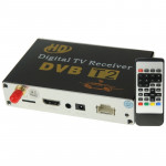 High Speed 90km/h H.264 / AVC MPEG4 Mobile Digital Car DVB-T2 TV Receiver, Suit for Europe / Singapore / Thailand / Africa ect.