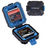 PULUZ 9 in 1 Memory Card Case with Strap for 2XQD + 2CF + 2TF + 3SD Card