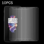 10 PCS OnePlus 5 0.3mm 9H Surface Hardness 2.5D Explosion-proof Non-full Screen Tempered Glass Screen Film