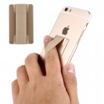 Universal Ultrathin Finger Grip Strap for Mobile Phones and Tablets, Size: 53 x 33 x 1.8 mm(Gold)