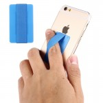 Universal Ultrathin Finger Grip Strap for Mobile Phones and Tablets, Size: 53 x 33 x 1.8 mm(Blue)
