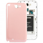 For Samsung Galaxy Note II / N7100 Original Plastic Back Cover with NFC(Pink)