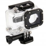 Waterproof Housing Protective Case for GoPro HERO3 Camera (Black + Transparent)