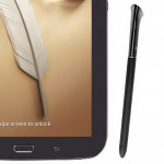 Smart Pressure Sensitive S Pen / Stylus Pen for Samsung Galaxy Note 8.0 / N5100 / N5110 (Black)