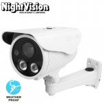 1 / 3 inch Sony 700TVL 6mm Fixed Lens Array LED & Waterproof Color CCD Video Camera with Bracket, Support OSD Control, IR Distan