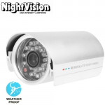 1 / 3 inch Sony 420TVL 6mm Fixed Lens Array LED & Waterproof Color CCD Video Camera without Bracket, IR Distance: 25m