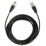 BNC Male to BNC Male Cable for Surveillance Camera, Length: 5m