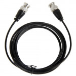 BNC Male to BNC Male Cable for Surveillance Camera, Length: 4m
