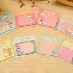 8 Pack Little Red Riding Hood Sticky Notes Book Random Color Delivery