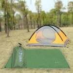 Outdoor Oxford Cloth Camping Mat Tent Blanket Sun Pergola Shelter Awning Picnic Mattress Camping Cushion, M Size: 180x220cm(Army