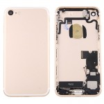 iPartsBuy for iPhone 7 Battery Back Cover Assembly with Card Tray(Gold)