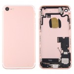 iPartsBuy for iPhone 7 Battery Back Cover Assembly with Card Tray(Rose Gold)