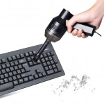 HK-6019A 3.5W Portable USB Powerful Suction Cleaner Computer Keyboard Brush Nozzle Dust Collector Handheld Sucker Clean Kit for