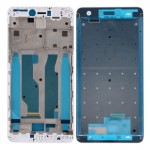iPartsBuy Xiaomi Redmi Note 4X Front Housing LCD Frame Bezel(White)