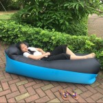 Pillow Inflatable Lounger 210T Polyester Fabric Compression Air Bag Sofa for Beach / Travelling / Hospitality / Fishing, Size: 2
