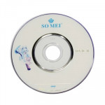 8cm Blank Mini DVD-R, 1.4GB/30mins, 10 pcs in one packaging,the price is for 10 pcs(White)