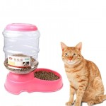 3.5L Dual-use Utility Automatic Drinking Water Dispenser Detachable Pet Bowl / Fountain, Random Color Delivery