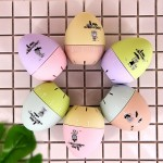Cute Cartoon Mechanical Egg Kitchen Timer Alarm Clock Students Learn Time Management Machines,Random Color Delivery