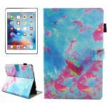 For iPad Pro 10.5 inch Colorful Marble Pattern Horizontal Flip Leather Protective Case with Holder & Card Slots & Wallet & Pen S