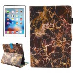 For iPad Pro 10.5 inch Brown Marble Pattern Horizontal Flip Leather Protective Case with Holder & Card Slots & Wallet & Pen Slot
