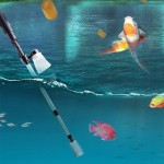 Electric Multi-functional Length Adjustable Fish Tank Cleaning Water Filter