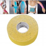 Waterproof Kinesiology Tape Sports Muscles Care Therapeutic Bandage, Size: 5m(L) x 2.5cm(W)(Yellow)