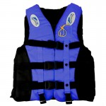 Drifting Swimming Fishing Life Jackets with Whistle for Children, Size:S(Blue)