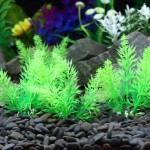 Artificial Tree Plant Grass Figurines Miniatures Aquarium Fish Tank Landscape, Size: 10.0 x 5.0cm