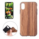 For iPhone 8 Rose Wood Texture TPU Shockproof Protective Back Cover Case,Small Quantity Recommended Before iPhone 8 Launching
