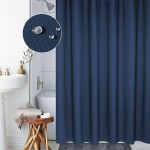 Thickening Waterproof And Mildew Curtain Honeycomb Texture Polyester Cloth Shower Curtain Bathroom Curtains,Size:180*180cm(Dark