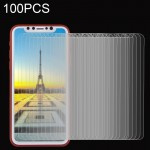 100 PCS for iPhone 8 0.26mm 9H Surface Hardness Explosion-proof Non-full Screen Tempered Glass Screen Film, Small Quantity Recom