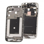 iPartsBuy Original 2 in 1 LCD Middle Board / Front Chassis for Samsung Galaxy S IV / i9500(Silver)