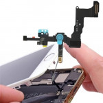 iPartsBuy Original 2 in 1 Front Camera + Sensor Flex Cable for iPhone 5S