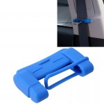 Universal Adjustable Car Seat Belt Buckle Plug Protective Cover Case Seat Belt Buckle(Blue)