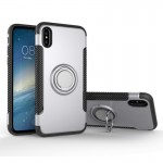 For iPhone 8 Magnetic 360 Degree Rotation Ring Armor Protective Case, Small Quantity Recommended Before iPhone 8 Launching(Silve