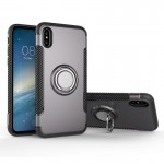 For iPhone 8 Magnetic 360 Degree Rotation Ring Armor Protective Case, Small Quantity Recommended Before iPhone 8 Launching(Grey)