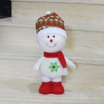 Large Size Standing Style Christmas Home Decoration Snowman Doll