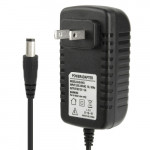 High Quality US Plug AC 100-240V to DC 12V 2A Power Adapter, Tips: 5.5 x 2.1mm, Cable Length: 1m(Black)