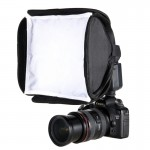Softbox Mini studio photo Pliable Soft Flash Diffuseur Couverture, Taille: 23cm x 23cm - Wewoo