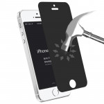 0.4mm 9H Surface Hardness 180 Degree Privacy Anti Glare Screen Protector for iPhone 5 & 5S