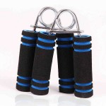 2 PCS Soft Foam Hand Exerciser A Type Hand Grips Gripper For Quickly Increasing Wrist Forearm And Finger Strength, Random Color