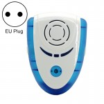6W Electronic Ultrasonic Electromagnetic Wave Anti Mosquito Rat Insect Pest Repeller with Light, EU Plug, AC 90-240V(Blue)