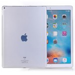 For iPad Pro 12.9 inch (2017) Smooth Surface TPU Case (Transparent)