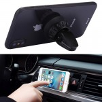 Silicone Sucker Universal Car Air Vent Phone Holder Stand Mount for iPhone, Samsung, Sony, Lenovo, HTC, Huawei, and other Smartp