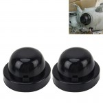 2 PCS K95 Universal Car LED Headlight HID Xenon Lamp Silicone Dust Cover Seal Caps Car Dust Cover Waterproof Dustproof Sealing H