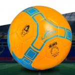 19cm PU Leather Sewing Wearable Match Football (Orange)