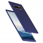 For Samsung Galaxy Note 8 360 Degree Full Coverage Protective Case Back Cover(Dark Blue)