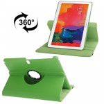 360 Degree Rotatable Litchi Texture Leather Case with 2-angle Viewing Holder for Samsung Galaxy Tab Pro 10.1 / T520 (Green)