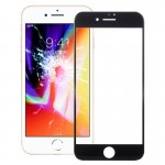 iPartsBuy for iPhone 8 Front Screen Outer Glass Lens(Black)