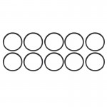 10 PCS iPartsBuy for iPhone X & 8 & 8 Plus Card Tray Waterproof Rings